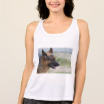 Sweet German Shepherd Dog Tank Top
