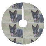 Sweet Shiloh Shepherd Brushed Polyester Tree Skirt