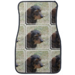 Wire Haired Daschund Dog Car Mat