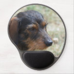 Wire Haired Daschund Dog Gel Mouse Pad