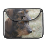 Wire Haired Daschund Dog MacBook Pro Sleeve
