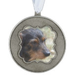 Wire Haired Daschund Dog Ornament