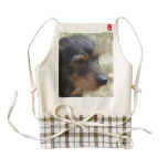 Wire Haired Daschund Dog Zazzle HEART Apron