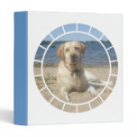 Yellow Labrador Retriever Dog Binder