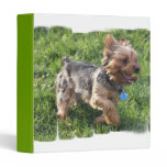 York Terrier Dog Binder