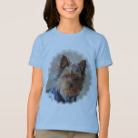 Yorkie Terrier  Girl's T-Shirt
